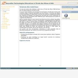 SciMat [Nouvelles Technologies Éducatives à l'EMAC]