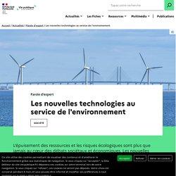 Les nouvelles technologies au service de l'environnement