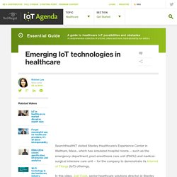 Emerging IoT technologies in healthcare