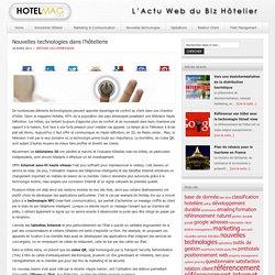 Nouvelles technologies dans l'hôtellerie — HotelMag