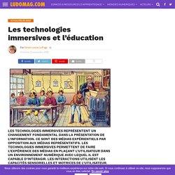 Les technologies immersives et l'éducation