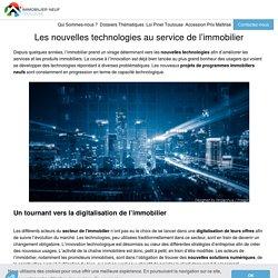Les nouvelles technologies dans l'immobilier - ImmobilierNeufToulouse.fr