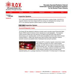 R.O.V. Technologies Inc. - PWR BMH Inspection