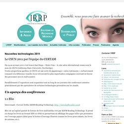 IRRP Information Recherche Rétinite Pigmentaire