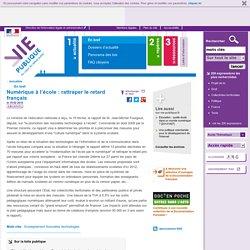 Ecole numérique : rapport, Jean-Michel Fourgous, nouvelles technologies, cartable en ligne, collège, lycée, équipement informatique. En bref - Actualités