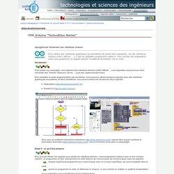 """technologies et sciences des ingénieurs - I'IDE Arduino """"TechnoEduc Nantes"""""""