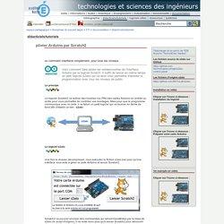 technologies et sciences des ingénieurs - piloter Arduino par Scratch2