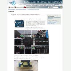 technologies et sciences des ingénieurs - Arduino : cartes d'extension pour maquettes Jeulin