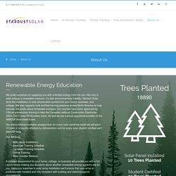 About us - Stardust Solar Technologies Inc.