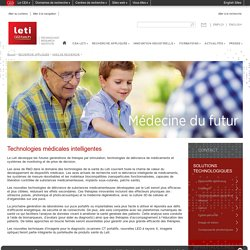 CEA-Leti - Technologies médicales intelligentes