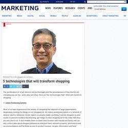 5 technologies that will transform shopping