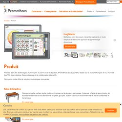 Tableaux Interactifs Promethean : Promethean (French)