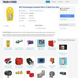 BW Technologies GasAlert Micro-5 Multi Gas Detector