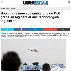 Boeing diminue ses émissions de CO2 grâce au big data et aux technologies logicielles