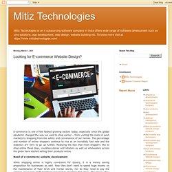 Mitiz Technologies: Looking for E-commerce Website Design?