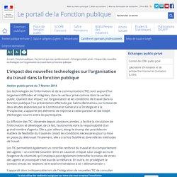 L'impact des nouvelles technologies sur l'organisation du travail dans la fonction publique