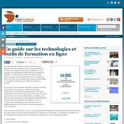 Un guide sur les technologies et outils de formation en ligne