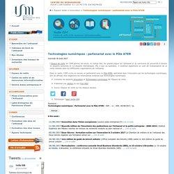 Technologies numériques : partenariat avec le Pôle ATEN