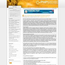 Une nouvelle étude sur l'état d'adoption de PHP en entreprise