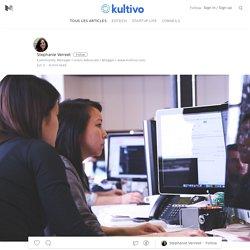 """"""" L'enjeu des technologies est de promouvoir la pédagogie active """" — Kultivo Stories"""