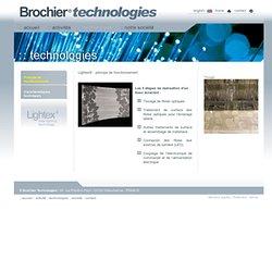 Brochier Technologies - tissu fibre optique Lightex® - les étapes de réalisation