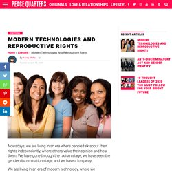 Modern Technologies And Reproductive Rights