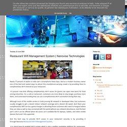 Nanovise Technologies: Restaurant Wifi Management System