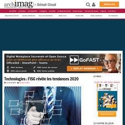 Technologies : l'ISG révèle les tendances 2020
