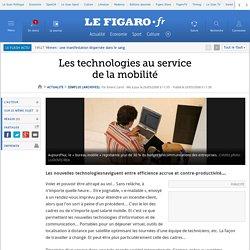 Les technologies au service de la mobilité