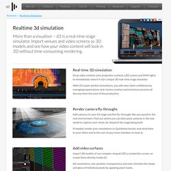 Features - Realtime Simulation