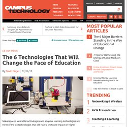 The 6 Technologies That Will Change the Face of Education
