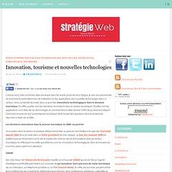 Innovation, tourisme et nouvelles technologies