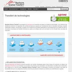 Transfert de technologies - SATT Aquitaine Science TransfertSATT Aquitaine Science Transfert