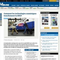 Comment les technologies numériques transforment la SNCF