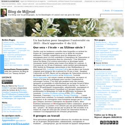 Blog de M@rcel : des technologies et des pédagogies qui travaillent ensemble