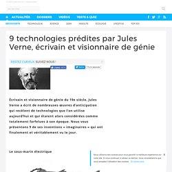 9 technologies prédites par Jules Verne, écrivain et visionnaire de génie