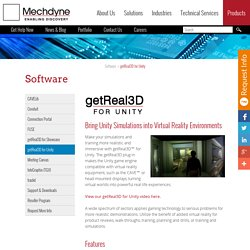 Interactive Technologies and Advanced Visualization Software