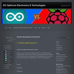 Arduino Breadboard Schematic - DC Optimum Electronics & TechnologiesDC Optimum Electronics & Technologies