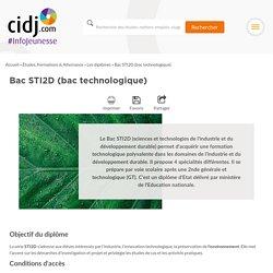 Bac STI2D (bac technologique) : programme, options, écoles, alternance, débouchés