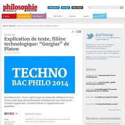 Bac Philo, philo, Bac philo, Baccalauréat, philosophie, Gorgias, Platon, Sujet, Corrigé
