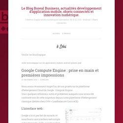 Le Blog Boreal Business, actualités développement d'application mobile, objets connectés et innovation numérique.