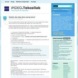 Veille technologique et technique par l'agence de développement web iMDEO