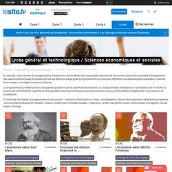 Lycée général et technologique / Sciences économiques et sociales - lesite.tv