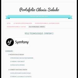 Veille Technologique : Symfony 2