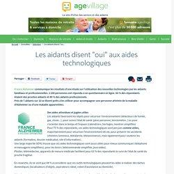 """Les aidants disent """"oui"""" aux aides technologiques - 12/12/16"""