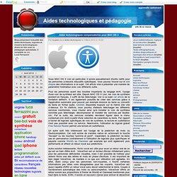 Aides technologiques compensatoires pour MAC OS X