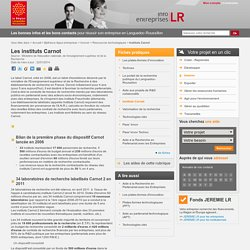Instituts Carnot / Ressources technologiques / INNOVER