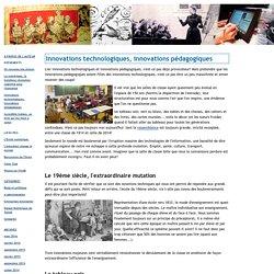 Le blog des e-services: Innovations technologiques, innovations pédagogiques
