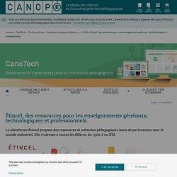 Etincel réseau Canopé