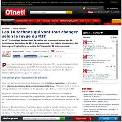 10 ruptures technologiques prophétisées par le MIT